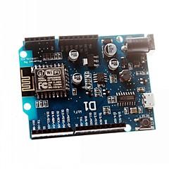 お買い得  マザーボード-互換性のArduinoのためのスマートエレクトロニクスESP-12E wemos D1の無線LAN UNOベースesp8266シールド