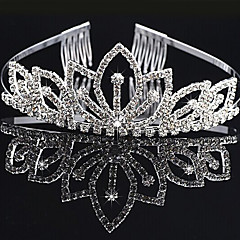 cheap Hair Jewelry-Women's Elegant & Luxurious Imitation Diamond Alloy Crown