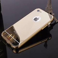 Недорогие Кейсы для iPhone 5-Кейс для Назначение iPhone 5 / Apple iPhone 8 / iPhone 8 Plus / Кейс для iPhone 5 Покрытие / Зеркальная поверхность Кейс на заднюю панель Однотонный Твердый Акрил для iPhone 8 Pluss / iPhone 8