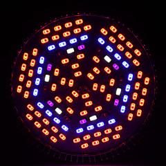 お買い得  LED 電球-1PCSが主導フルspecturmの80ワットE27は顕花植物グローボックスの赤、青、白のIR光紫外線を成長主導の成長します