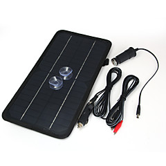8.5W 12V Car Battery Solar Panel with 2pcs Suction Cups Power Banks