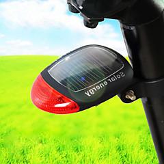 Πίσω φως ποδηλάτου - Ποδηλασία Αδιάβροχη / Εύκολη μεταφορά / Προειδοποίηση Άλλο more Lumens Ηλιακής Ενέργειας Ποδηλασία-Φωτισμοί