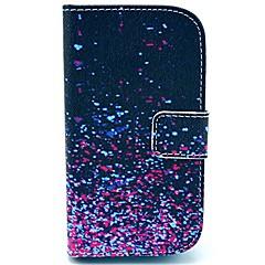 Varten Samsung Galaxy kotelo Lomapkko / Korttikotelo / Tuella / Flip / Kuvio Etui Kokonaan peittävä Etui Liukuvärjätty Tekonahka Samsung