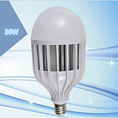olcso LED izzók-LERHOME 36W 3600 lm E26/E27 LED gömbbúrás izzók G125 72 led SMD 5730 Dekoratív Hideg fehér 220-240 V