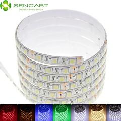 5m 75W 300x5050smd LED RGB / biały / zielony / niebieski / żółty / czerwony / biały zimny / ciepły biały DC 12V wodoodporny IP68 Taśmy LED