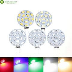preiswerte LED-Birnen-SENCART 5 Stück 7 W 700-900 lm G4 LED Spot Lampen MR11 15 LED-Perlen SMD 5630 Abblendbar Warmes Weiß / Natürliches Weiß / Rot 12 V / 24 V / 9-30 V / RoHs