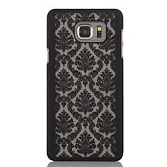Χαμηλού Κόστους Galaxy S3 Θήκες / Καλύμματα-tok Για Samsung Galaxy Samsung Galaxy Θήκη Παγωμένη Πίσω Κάλυμμα Λουλούδι PC για S6 edge plus S6 edge S6 S5 S4 S3 Mini S3