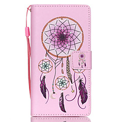 cheap Cases / Covers for Huawei-Case For Huawei / Huawei P8 Lite P8 Lite / Huawei Case Wallet / Card Holder / with Stand Full Body Cases Dream Catcher Hard PU Leather for Huawei P8 Lite / Huawei
