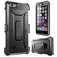 Недорогие Кейсы для iPhone 7-Кейс для Назначение Apple iPhone 8 iPhone 8 Plus iPhone 6 iPhone 6 Plus iPhone 7 Plus iPhone 7 Защита от удара Чехол броня Твердый Силикон