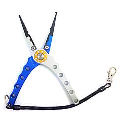 バッグやロープを持つ航空アルミタングステン鋼角顎釣りペンチ