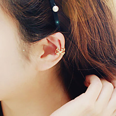 preiswerte Ohrringe-Damen Klips - Stern Silber / Golden / Gold / Rosa Für Hochzeit Party Alltag