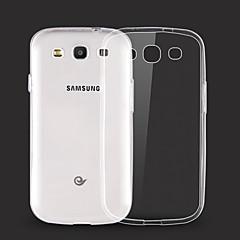 Para Funda Samsung Galaxy Transparente Funda Cubierta Trasera Funda Un Color TPU Samsung S6 edge plus / S6 edge / S6 / S5 / S4 / S3
