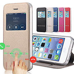 Недорогие Кейсы для iPhone 5с-Кейс для Назначение iPhone 5c / Apple iPhone 8 / iPhone 8 Plus Чехол Твердый Кожа PU для iPhone 8 Pluss / iPhone 8 / iPhone 5c