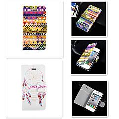 Недорогие Кейсы для iPhone 4s / 4-Кейс для Назначение iPhone 4/4S Apple Чехол Твердый Кожа PU для iPhone 4s / 4