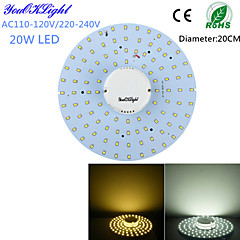 LED Ceiling Lights 100 SMD 2835 1800 lm Warm White Cold White 3000/6000 K Decorative AC 220-240 AC 110-130 V