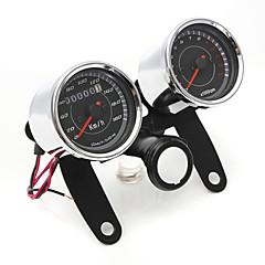 Χαμηλού Κόστους Αξεσουάρ για μοτοσυκλέτα και ATV-iztoss καθολική οδήγησε ταχύμετρο μοτοσικλέτα + χιλιομετρητή μετρητή ταχύμετρου
