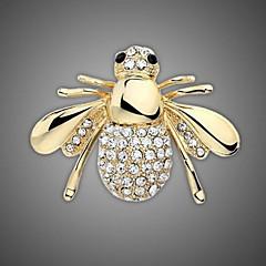 placate cu aur / stras brosa / femei animal de moda de albine brosa / nunta / petrecere 1pc