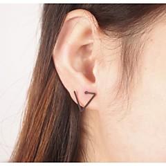 preiswerte Ohrringe-Damen Ohrstecker - Simple Style, Modisch Schwarz / Silber / Golden Für Party / Alltag / Normal