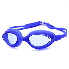 Óculos de Natação Unisexo Anti-Nevoeiro Gel Silica PC Branco / Cinzento / Preto / Azul / Azul EscuroRosa / Cinzento / Preto / Azul / Azul