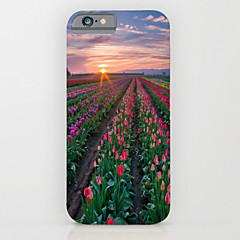 Недорогие Кейсы для iPhone 6-Кейс для Назначение Apple iPhone 6 iPhone 6 Plus С узором Кейс на заднюю панель Цветы Твердый ПК для iPhone 6s Plus iPhone 6s iPhone 6