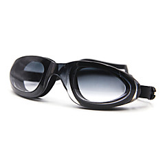 abordables Gafas de Natación-Gafas de natación Anti vaho Gel de sílice PC Blanco / Negro / Azul Verde / Rojo / Negro