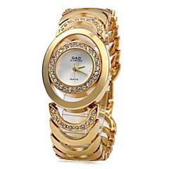 preiswerte Tolle Angebote auf Uhren-Damen Modeuhr / Armband-Uhr Japanisch Armbanduhren für den Alltag Edelstahl Band Modisch / Elegant Silber / Gold / Zwei jahr / Sony SR626SW