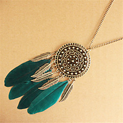 Women's Pendant Necklaces Statement Necklaces Jewelry Alloy European Bohemian Jewelry For Party Daily Casual