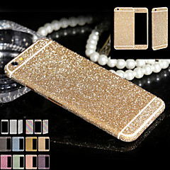 full body glitter voor iphone6 ​​/ 6s glanzende telefoon sticker geval fonkelende diamanten film decals