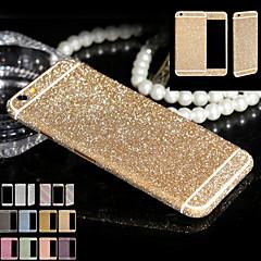 teljes test csillogás az iphone6 / 6s fényes telefon matrica esetében pezsgő gyémánt film matricák