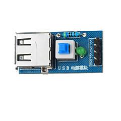 아두 이노 + 라즈베리 파이에 대한 USB 전원 변환 모듈 - 블루