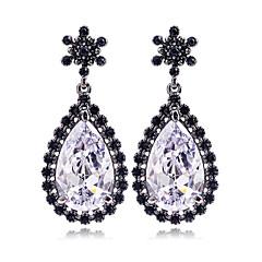 voordelige Druppeloorbellen-Dames Druppel oorbellen Kristal Sieraden Bruiloft Feest Dagelijks Causaal Kostuum juwelen