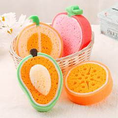 abordables Limpieza para la Cocina-Esponja Cepillo y Trapo de Limpieza