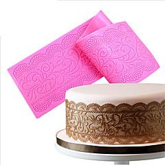 お買い得  ベイキング用品&ガジェット-ベークツール シリコーン エコ 焦げ付き防止 ケーキ Cupcake パイ ベーキングモールド