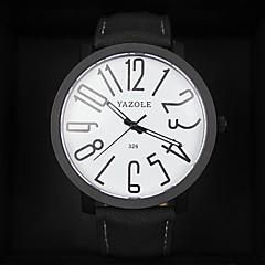 preiswerte Damenuhren-Damen Armbanduhr Armbanduhren für den Alltag Leder Band Modisch / Elegant Schwarz / Braun / Ein Jahr / KC 377A