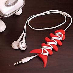 Envase para Auriculares / Bobinadora de Cable Portable para Almacenamiento para Viaje