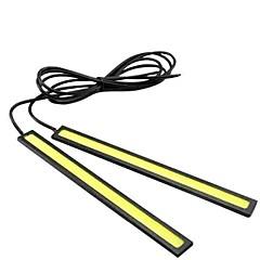 Недорогие Дневные фары-Автомобиль Лампы 80W W COB 7880lm lm 40 Лампа поворотного сигнала Световая лента Фары дневного света Противотуманные фары