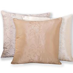 tanie Poduszki-Poliester Pokrywa Pillow,Upiększać i haftowane Modern / Contemporary / Tradycyjny / Akcent / Decorative