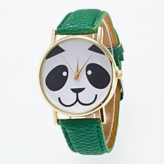 preiswerte Damenuhren-Damen Armbanduhr PU Band Charme / Modisch Schwarz / Weiß / Blau / Ein Jahr / Jinli 377