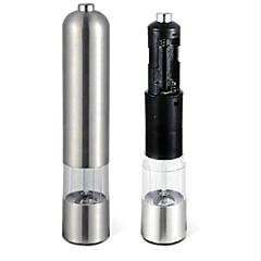 aço inoxidável sal pimenta ferramenta elétrica fábrica de especiarias moedor muller cozinha