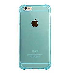 Per Traslucido Custodia Custodia posteriore Custodia Tinta unita Morbido TPU per AppleiPhone 7 Plus iPhone 7 iPhone 6s Plus/6 Plus iPhone
