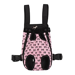 Cat Dog Carrier & Travel Backpack Front Backpack Pet Covers Portable Bowknot Pink For Pets