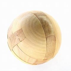 madeira round quebra-cabeça brinquedos desbloqueio ciclo de descompressão