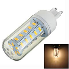G9 LED Bi-pin Lights T 36 SMD 5730 400-500lm Warm White 3000K Decorative AC 220-240V