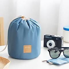 billige -Rejsetoilettaske Rejsebagageorganisator Kosmetiktaske Opbevaring under rejser Stor kapacitet for Tøj Stof / Dame Rejse