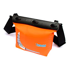 Droge Dozen Droge tassen Mobiele Telefoon Cameratassen Waterbestendig Duiken & Snorkelen PVC Zwart Wit Rood Orange Groen Blauw