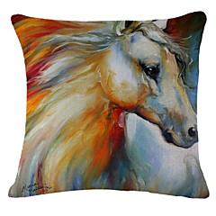malarstwo wzór konia pościel poszewka na poduszkę sofa dekoracja domu poduszki
