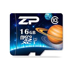 ZP 16GB بطاقة مايكرو SD بطاقة TF شريحة ذاكرة UHS-I U1 CLASS10