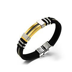 Heren Lederen armbanden Uniek ontwerp Modieus Klassiek Kostuum juwelen Roestvast staal Leder Sieraden Sieraden Voor Dagelijks Causaal