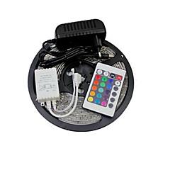 z®zdm vedenpitävä 5m 300x3528 SMD RGB LED nauhat valo ja ac110-240v jotta dc12v3a muuntaja