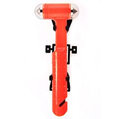Недорогие Аварийные инструменты-Автомобиль аварийный молоток ремней безопасности резак инструмент окна удар побег спасательного